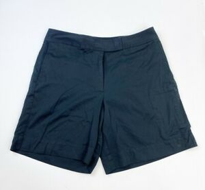 Tommy Bahama Shorts Women's Size 6 Black Silk Cotton Blend