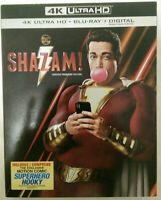 DC Shazam! (4K UltraHD+BluRay+Digital) w/ Slipcover New Sealed