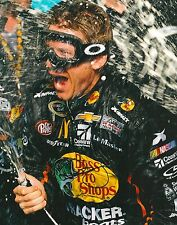 JAMIE MCMURRAY signed NASCAR 8X10 VICTORY LANE photo with COA