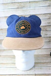 Boyd's Bears and Friends Blue Adjustable Cap Hat with Ears