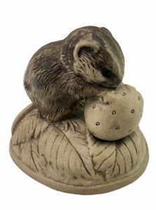 Vintage Poole Chipmunk Barbara Linley Adams Stoneware Mouse Figurine England