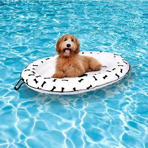 Dog Pool Float - Ride on Raft for Dogs and Swimming Pets