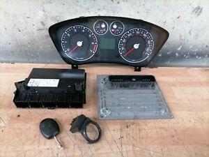2007 FORD FIESTA MK6.5 1.6 1596CC PETROL ENGINE ECU KIT 6S61-12A650-JD 6CAD