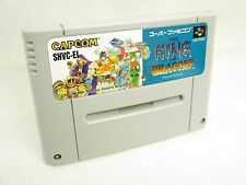 THE KING OF DRAGONS Super Famicom Video Game Cartridge Only sfc