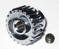 Duralumin 21 Tooth Pinion Gear for 3.17 mm Shafts - 48 Pitch - 21T - 3.17mm