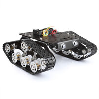 STEM Education Tracked Robot Smart Car Platform for Arduino Raspberry Pi DIY Kit