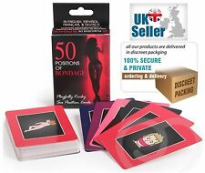 50 Positions Of Bondage Playfully Kinky Sex Position Cards Adult Couple Fun Time