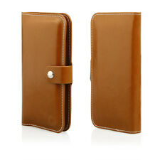 HQ Buch Klapp Tasche Flip Book Hülle Etui für Xiaomi Mi5S BRAUN