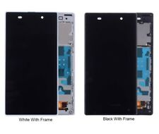 LCD Display Touch Screen Digitizer Frame For SONY Xperia Z1 L39H C6902 C6903