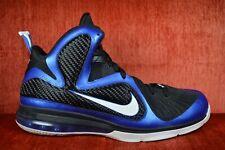 timeless design 6b7c0 52c8c CLEAN Nike LeBron IX 9 Kentucky Varsity Royal White Size 13 2011 469764 400