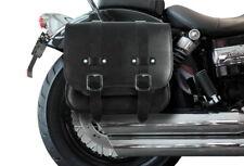 Satteltasche Harley Davidson Softail Custom DeLuxe Packtasche Leder Buffalo Bag