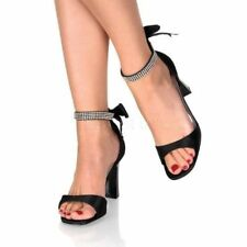High (3 in. to 4.5 in.) Party Pull On Heels for Women