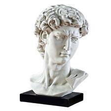 "24"" David Bust Head Statue by Michelangelo"