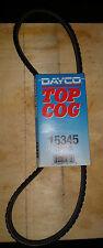 DAYCO Top Cog Fan Belt V-Belt 15345 11A0875