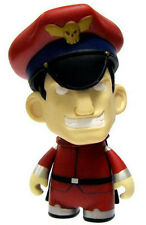 Street Fighter X Kid Robot 3'' M. Bison Trading Figure Anime Manga NEW