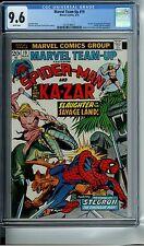 MARVEL TEAM-UP #19 CGC 9.6 WHITE PAGES KA-ZAR SPIDER-MAN 1ST APP OF STEGRON