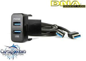 DNA DESIGNER AUDIO USB ADAPTOR LEAD TO SUIT TOYOTA VEHICLES - LARGE TOYUSB02