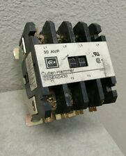 CUTLER HAMMER C25END430T DEFINITE PURPOSE CONTACTOR W/ 24 VOLT COIL USED