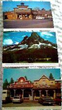 Lot 3 Vintage Western POSTCARDS Washington North Cascades Winthrop 4x6 Souvenir
