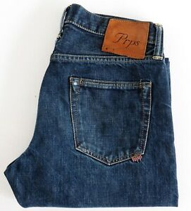 PRPS Mens Classic Straight Jeans Made Japan P45 P28X Button Fly Size W31 EUC
