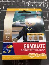 Oyo Sports Minifigure University of Kansas Jayhawks Graduate Alumni Lego Female