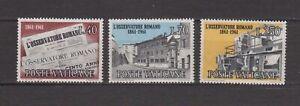S15654) Vatican MNH 1961 Spotter Roman 3v
