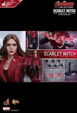 1/6 HOT TOYS AVENGERS SCARLET WITCH MMS357 EXCLUSIVE MOVIE PROMO EDITION NEW