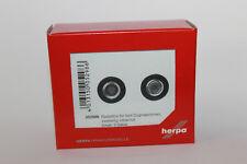 Herpa 052986 Set de ruedas para 5 Tractores PLATA ROJO H01: 87 NUEVO EN EMB.