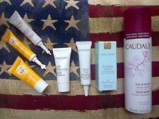 7pc skincare set: Caudalie, Bioderma, Estee Lauder, Elizabeth Arden & Resultime