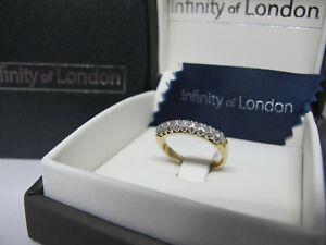 ANELLO FIDANZAMENTO Oro Bianco Giallo Donna 9Ct Diamanti FEDE FEDINA VERETTA