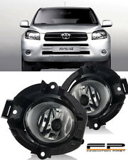 2006 2007 2008 Toyota RAV4 Clear Lens Fog Lights Full Complete Kit Left+Right
