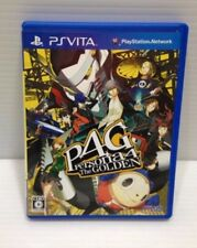 Used PS Vita Persona 4 P4: The Golden Japan Import Free Shipping