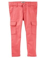 OshKosh BGosh Toddler Girls Peached Twill Cargos - Pink...