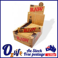 Whole Box Raw Classic King Size Natural Rolling Cigarette Papers 50 Booklets
