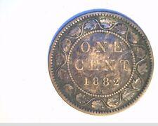 1882-H Canada, 1 Penny, High Grade Circulated Bronze (Can-531)