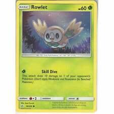 Pokemon Sun /& Moon TCG Card 009//149 Rowlet