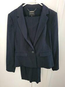 Portmans navy pant suit
