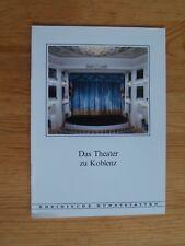 Rheinische Kunststätten Heft 307 1986 Das Theater zu Koblenz