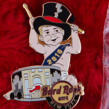 Hard Rock Cafe Pin NEW YORK Time Square BABY NEW YEARS EVE facade building drum