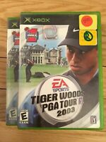 EA SPORTS TIGER WOODS PGA TOUR 2003 - XBOX - WITH MANUAL - FREE S/H - (SS)