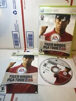 TIGER WOODS PGA TOUR 06 - Xbox 360 Manuel included