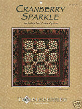 Cranberry Sparkle by Lynette Jensen - Quilt Pattern Brochure in Sheet Protector
