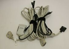 (2) Texas Instruments Ti-84 Plus Presentation Link Cable Adapter