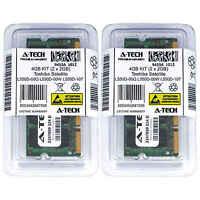 4GB KIT 2 x 2GB Toshiba Satellite L550D-00Q L550D-00W L550D-107 Ram Memory