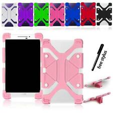 Shockproof Silicone Stand Cover Case For Kurio 7/7S 10/10s Tablet + Stylus