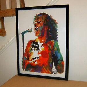 Joe Cocker Singer Blues Pop Rock Music Poster Print Wall Art 18x24