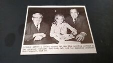 CONNIE SMITH...Signing Her New RCA Contract Original Print Promo Pic/Text