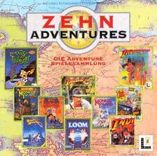 Zehn Adventures von Lucas Arts Die 10 besten PC Spiele auf 2 CD,s