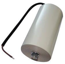Condensateur permanent de travail pour moteur 100µF 450V précâblé Ø65x120mm ±10%