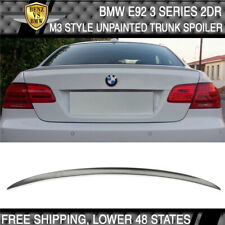07-13 BMW 3 Series E92 2Dr M3 Style Unpainted ABS Trunk Spoiler